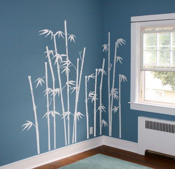 Les 25 meilleures id es de la cat gorie bambou geant sur for Autocollant mural ikea