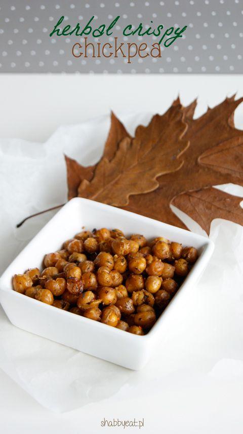 chrupiąca ciecierzyca / herbal crispy chickpea