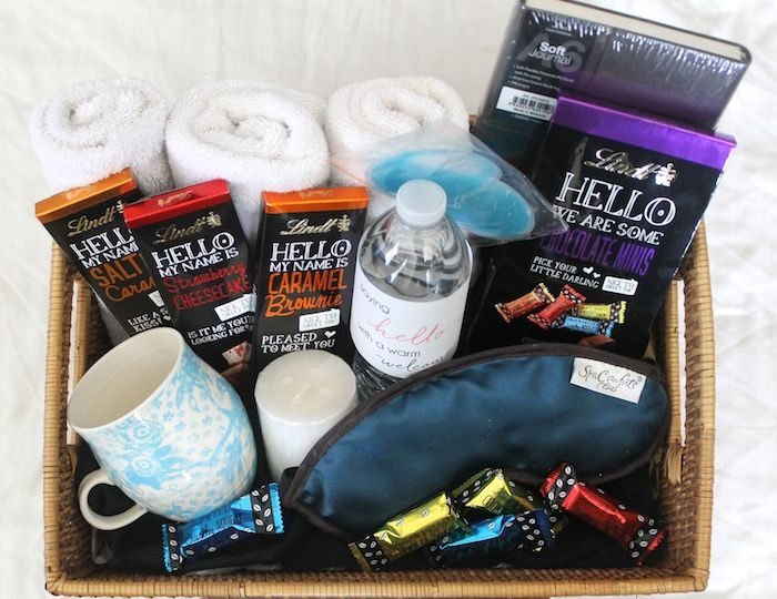 Saying HELLO with a Warm Welcome: How To Put Together a House Guest Basket | MyThirtySpot
