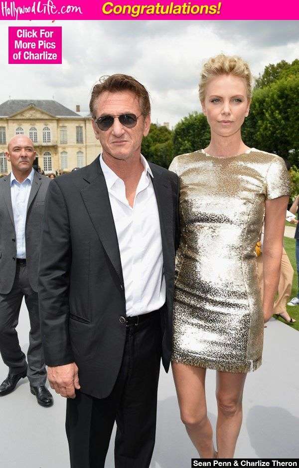 """Sean Penn & Charlie Theron Engaged - """"Sean Penn reportedly popped the question to Charlize Theron"""" http://hollywoodlife.com/2014/12/29/sean-penn-charlize-theron-engaged-getting-married/"""