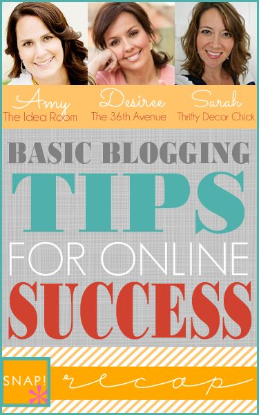 Basic Blogging Tips for Online Success over at the36thavenue.com { Part 2 of 3 }