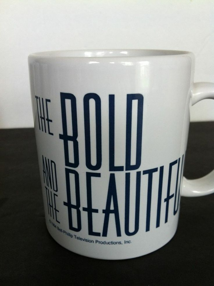 The Bold And The Beautiful Soap Opera Coffee Mug Cup