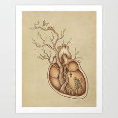 Art Print featuring Tree Of Life by Enkel Dika