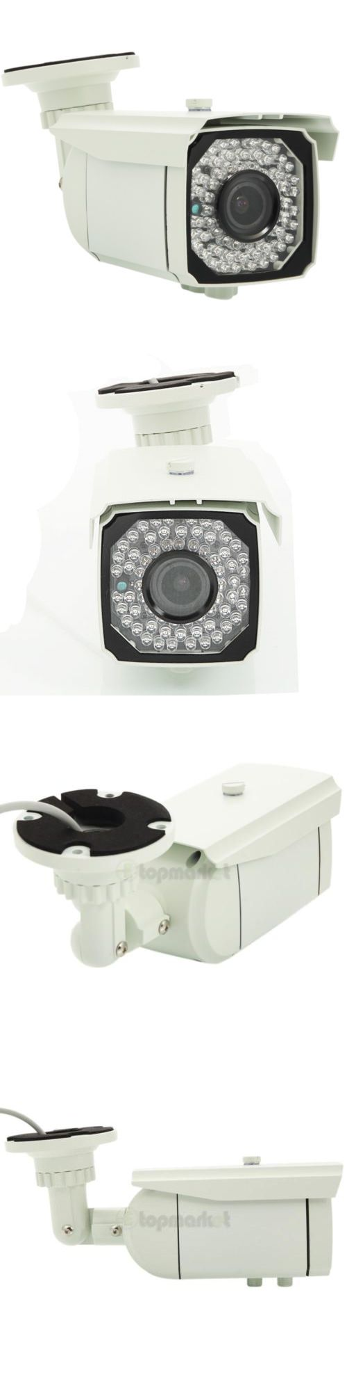 Security Cameras: 1300Tvl Hd Sony Cmos 2.8-12Mm Varifocal Outdoor Home Cctv Security Camera Ir-Cut BUY IT NOW ONLY: $45.0