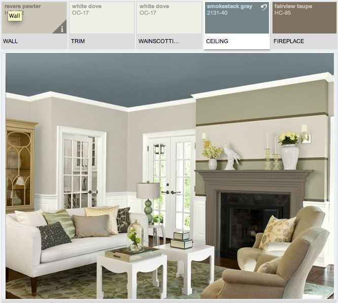 ben moore revere pewter walls white dove trim on benjamin moore color visualizer id=52524