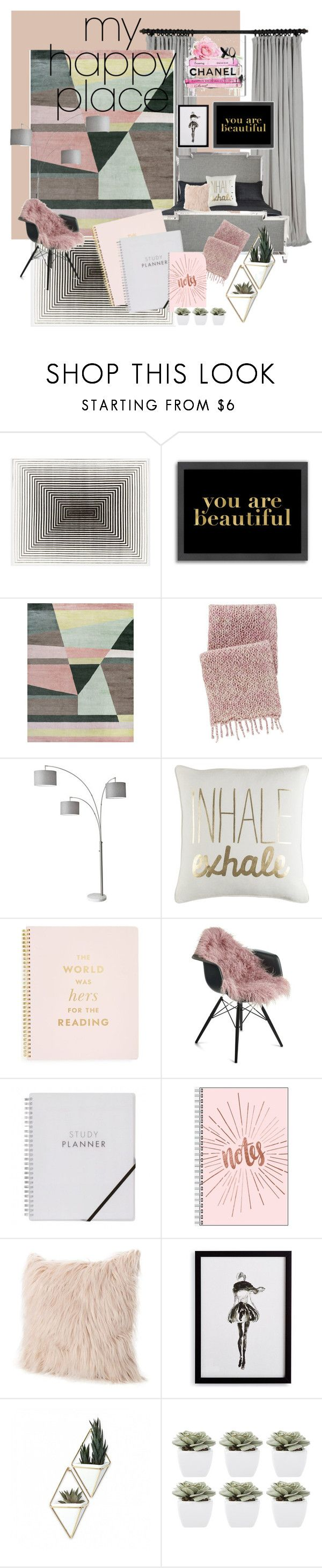 """Crazy & comfy"" by jasvonne on Polyvore featuring interior, interiors, interior design, home, home decor, interior decorating, Americanflat, Bernhardt, Pine Cone Hill and Adesso"