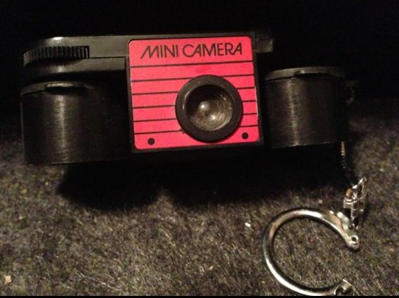 Keychain camera