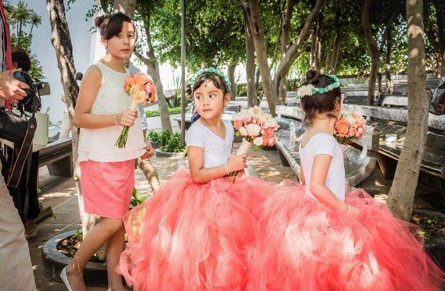 Pajes de boda, Flower's girls