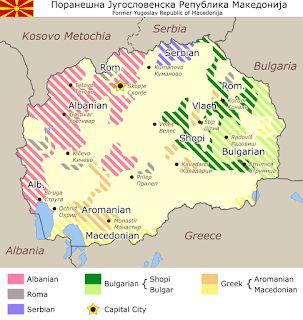 ΤΟ ΚΟΙΝΟ ΤΩΝ ΑΠΑΝΤΑΧΟΥ ΕΛΛΗΝΩΝ: Χάρτης των μειονοτήτων στην Πρώην Γιουγκοσλαβική Δ...