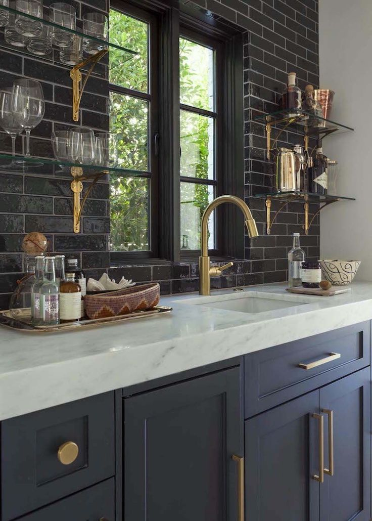 Amazing Black Kitchen Cabinets On Trend For 2018 Painted Modern