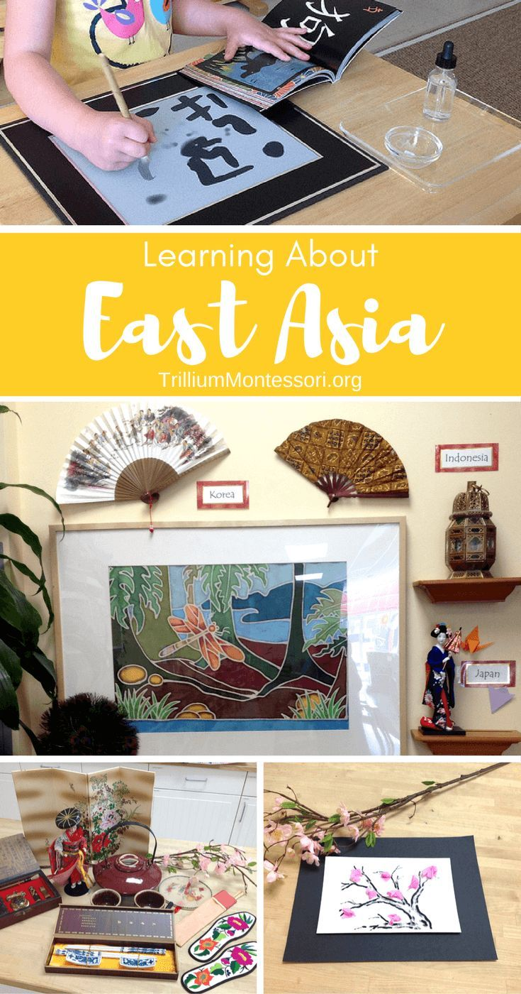 Learning About Asia East Asia MontessoriInspired