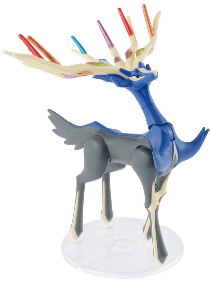 SpruKits Pokemon Xerneas Action Figure Model Kit, Level 2