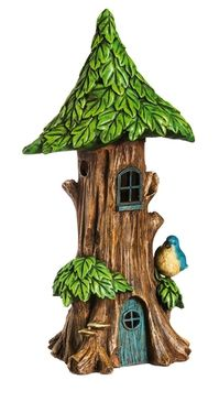 Forest Foliage Lighted Fairy House (Tall)  Price $40.99