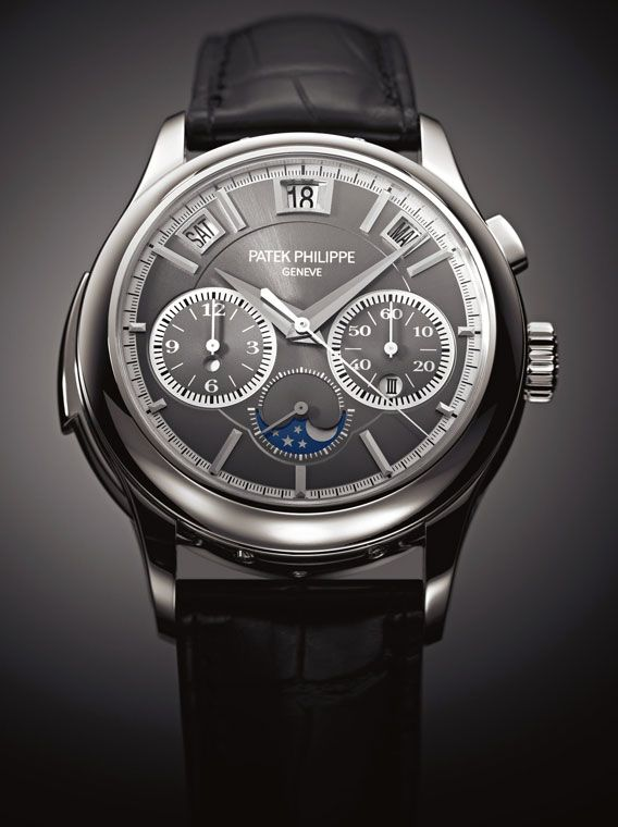 The Watch Quote: The Patek Philippe Triple Complication watch - réf. : 5208P - Self-winding Grand Complication wristwatch with minute repeater, monopusher chronograph, instantaneous perpetual calendar with apertures, and moon phases