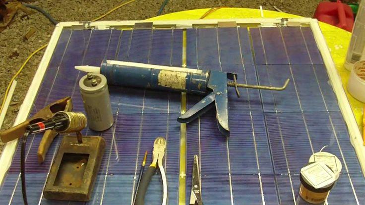 Building Cheap Solar Pannels