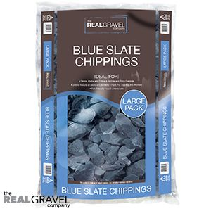 Blue Slate Chippings 20kg