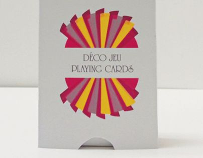"""Consulta este proyecto @Behance: """"Deco Jeu playing cards"""" https://www.behance.net/gallery/8056199/Deco-Jeu-playing-cards"""