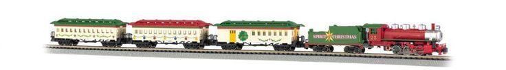 Bachmann Spirit Of Christmas Ready To Run Electric Train Set - N Scale