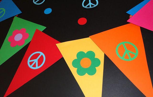 Celebra con Ana | Compartiendo experiencias creativas: Preparando la Flower Power Party
