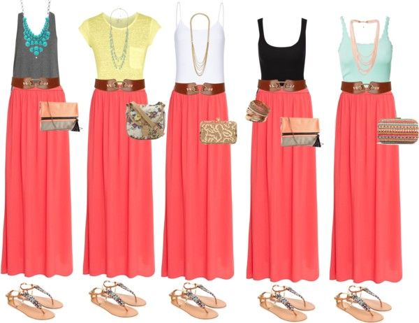 "I made this for you, @Bethany Shoda Bocook! ""Maximizing basic items"" by emeralddawn on Polyvore"