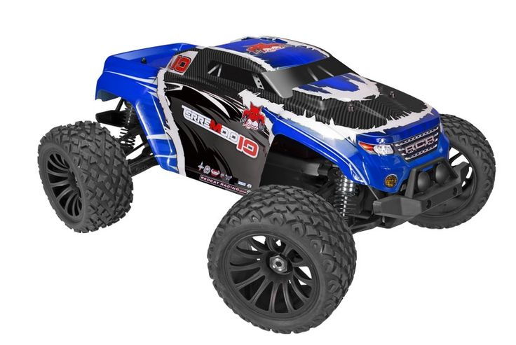 Enjoy the awesome power of the REDCAT RACING ELECTRIC RC TRUCKS BLUE TERREMOTO-10 V2 1/10 SCALE. Always Free Shipping!
