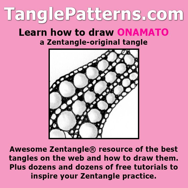 Easy Zentangle Patterns for Beginners Step by Step ...