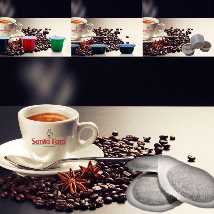 Buongiorno!!! Ci ricordiamo che nel nostro store in-line www.santafaracaffe.it trovate tutte le #Compatibili  #Nespresso #AmodoMio #LavazzaPoint Oltre alle nostre famose  #cialde!!! #ilcultodelcaffè