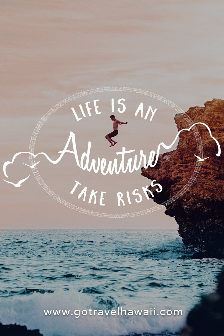 Travel Quotes | There is no greater risk than taking none at all.