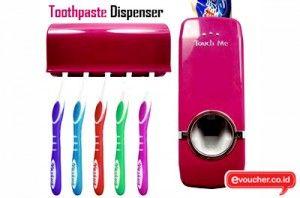 Menyikat Gigi Jadi Lebih Mudah Dengan ToothPaste Dispenser Hanya Dengan Rp. 65,000 - www.evoucher.co.id #Promo #Diskon #Jual  Klik > http://www.evoucher.co.id/deal/ToothPaste-Dispenser-Desember-2013  Dispenser Pasta Gigi Cukup Mudah Untuk Digunakan Tinggal Masukkan Pasta Gigi Kedalam Dispenser Cukup Ditekan Jika Mau Digunakan. Mengemat Waktu, Tempat Dan Sikat Gigi Anda Bersih.  Pengiriman mulai tanggal 2014-01-07