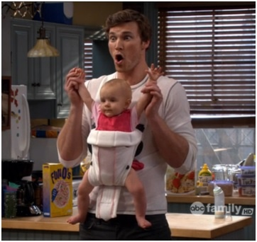 Baby Daddy. I wish I had a baby for him to sit. ;-)