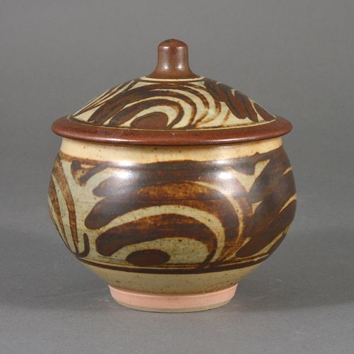 BERNARD LEACH AR    Marmalade Jar, circa 1960