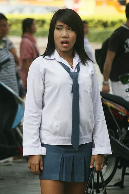 thai school girl school uniforms pinterest girls