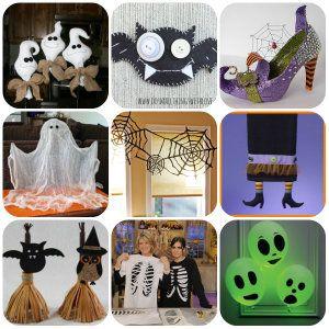 Vestiti e decorazioni per Halloween
