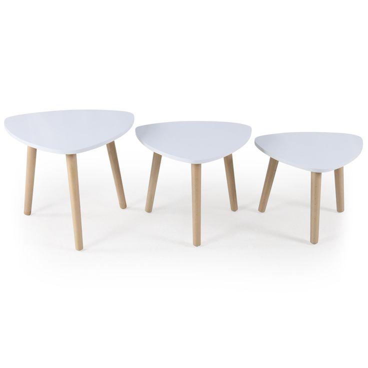 les 25 meilleures id es de la cat gorie table gigogne scandinave sur pinterest canap gigogne. Black Bedroom Furniture Sets. Home Design Ideas