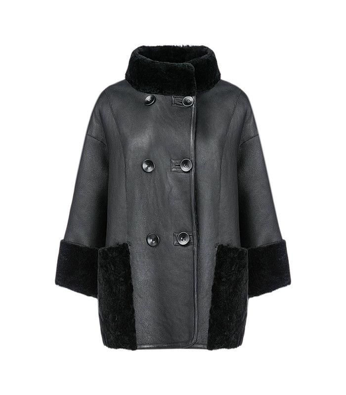 Женская куртка из овчины Virtuale Fur Collection 182607000, заказать в интернет магазине все размеры, цена с фото в Москве