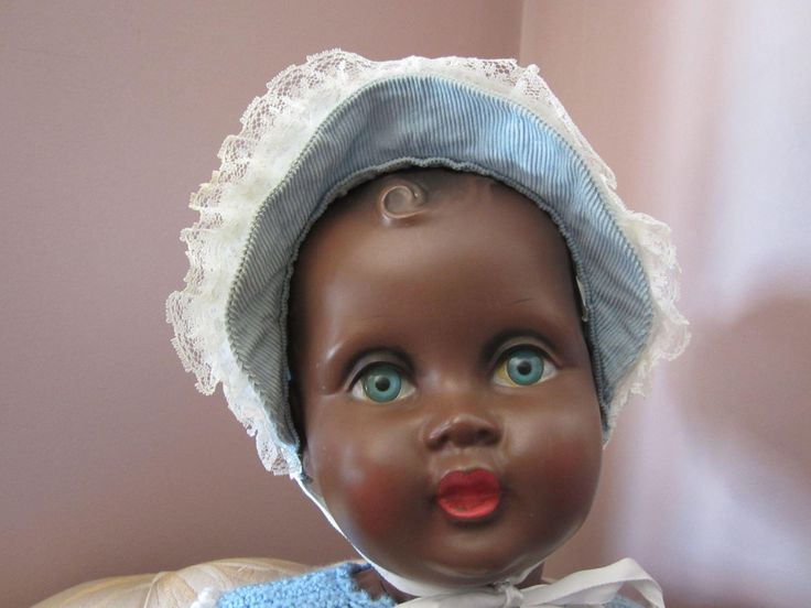 Hard Plastic 27 5 Quot African American Black Doll Vintage