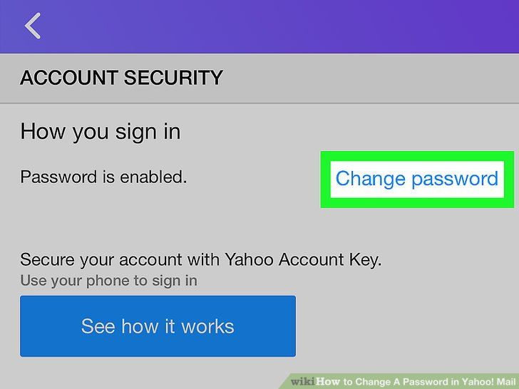 The Most Effective Method to Change a Password in Yahoo