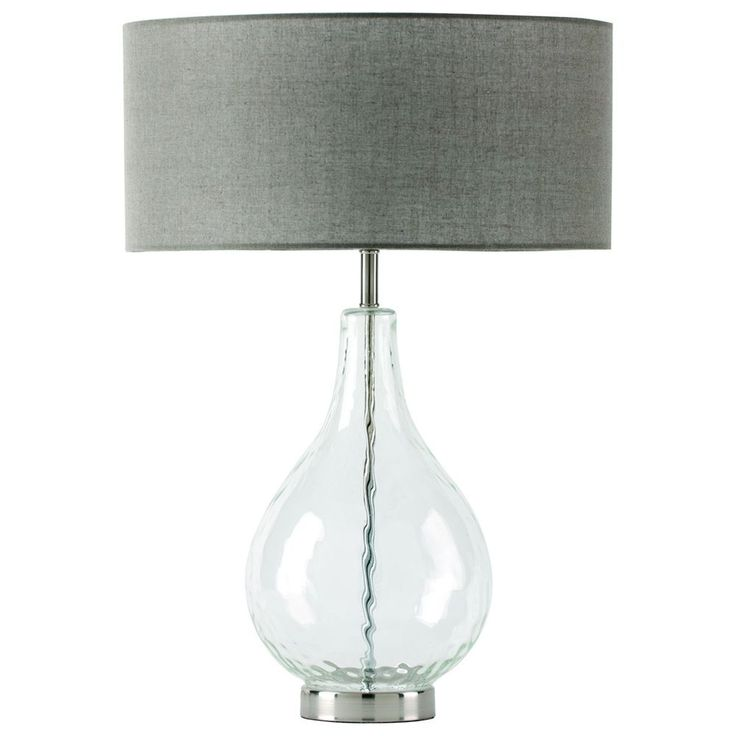 lucy clear table lamp by shiraleah