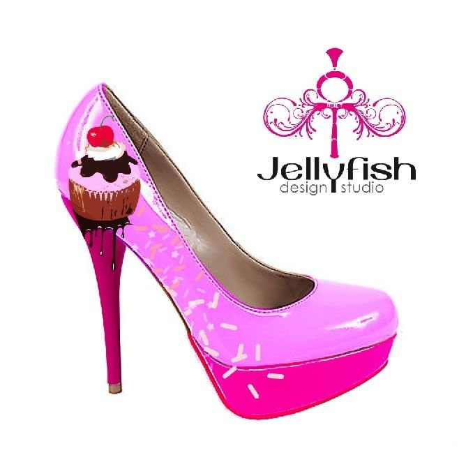 Cupcake Shoes...mmm..look deliciously fun to wear!