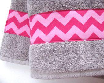 Hot Pink Towels Hot Pink Quatrefoil Quatrefoil Fabric By AugustAve