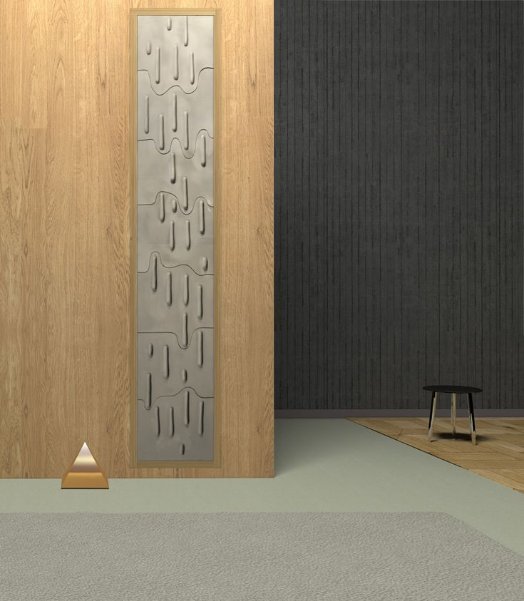 Icicles - Ceramic #3D #Wall by Grzeskiewicz Design Studio