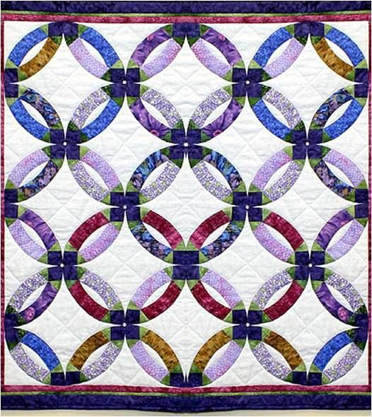 48 best Wedding Ring Quilts Single Girl Quilts images on Pinterest