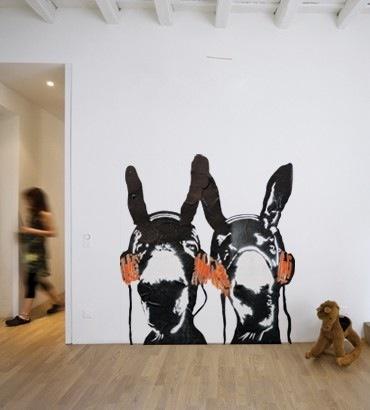 Urban Art Wall Decal