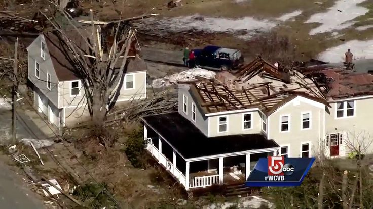 Uncut video: Tornado damage in Conway