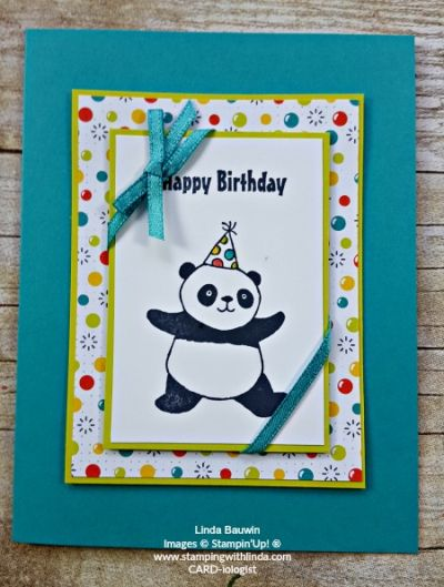 Get the Perfect Pandas Stamp Set free during Sale-a-Bration  Linda Bauwin  Your CARD-iologist  Helping you create cards from the heart.