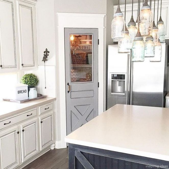 Kitchen Pantry Doors Farmhouse