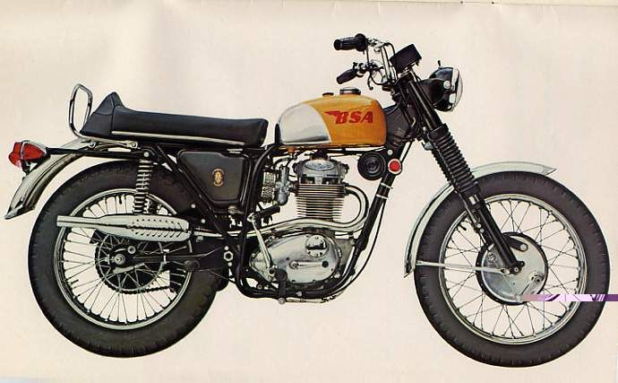 bsa b25 | Back To 1967 (Briefly): BSA 441 Victor – Heart Thumping