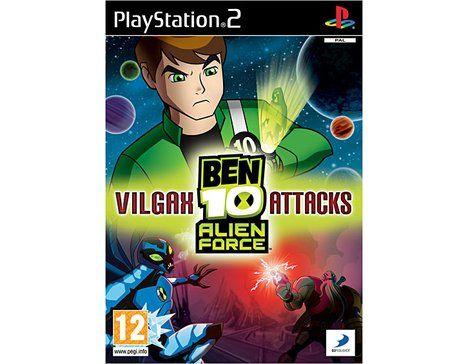 Jeux Playstation 2 (PS2)  BEN 10 Alien Force : Vilgax Attacks