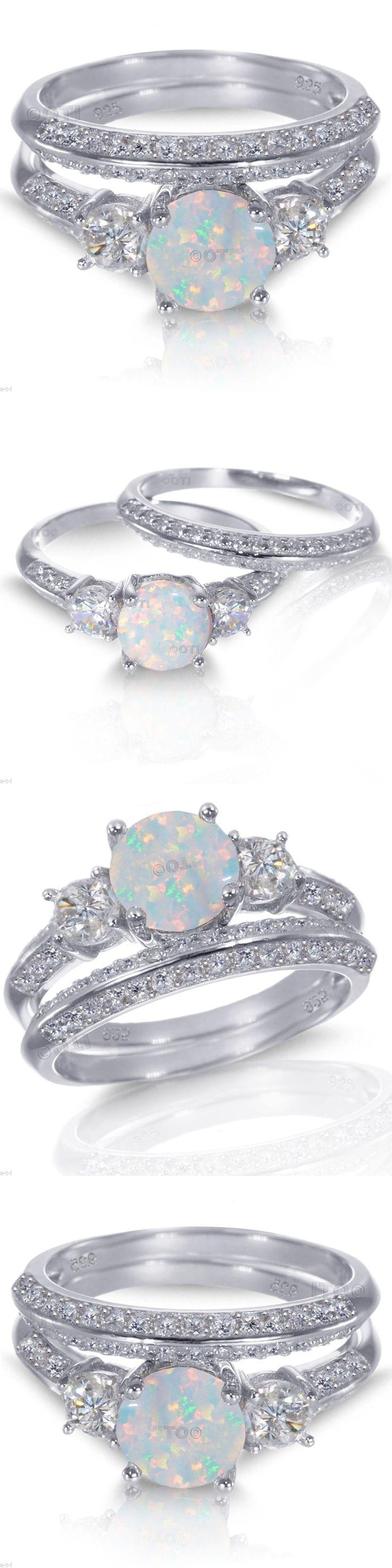 70 hermosas ópalos y diamantes para ideas de anillos de boda   – Wedding Ring Ideas