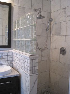 Best 25 Glass Block Shower Ideas On Pinterest